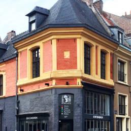 Bisman Lille - Vieux Lille - graveur