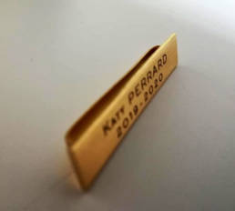 Barrette pour Collier de Club Rotary Lion club Les abeilles Ladies - Barrette de collier de président