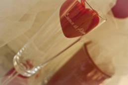 Gravure sur verre pour mariage et cadeaux