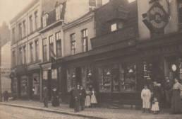 1907 Lille rue Gambetta ancienne boutique famille BISMAN gravure écussons et tampons plaques