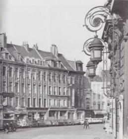 Bisman graveur place du théâtre à Lille - ancienne boutique commerçant de lille centre entreprise centenaire