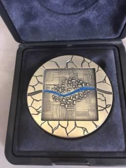 Médaille de Ville gravure Lille Tourcoing Rennes