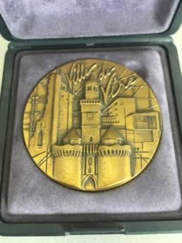 gravure de Médaille de Ville