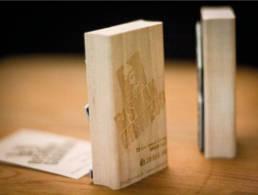 tampon moulure en bois sur mesure