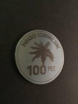 Médaille gravée en inox