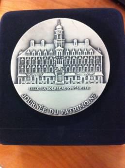 Médaille de Lille - Journée du Patrimoine