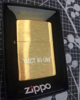 Gravure de briquet Zippo personnalisation
