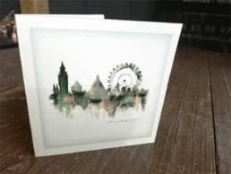 carte de vœux de Lille
