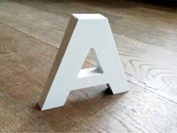 Découpe en PVC pour le lettrage et les logos