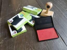 Encriers pour les tampons en bois