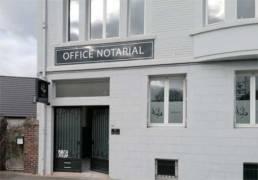 Office notarial signalétique extérieure
