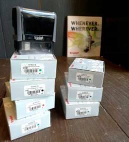 Recharge de cassettes d'encres pour les tampons Trodat