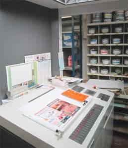 Atelier Imprimerie Pantone