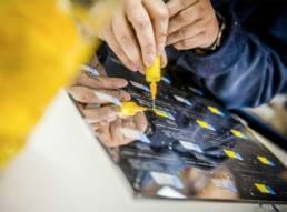Atelier gravure et couleurs