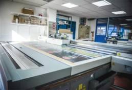 Vue des ateliers Imprimerie